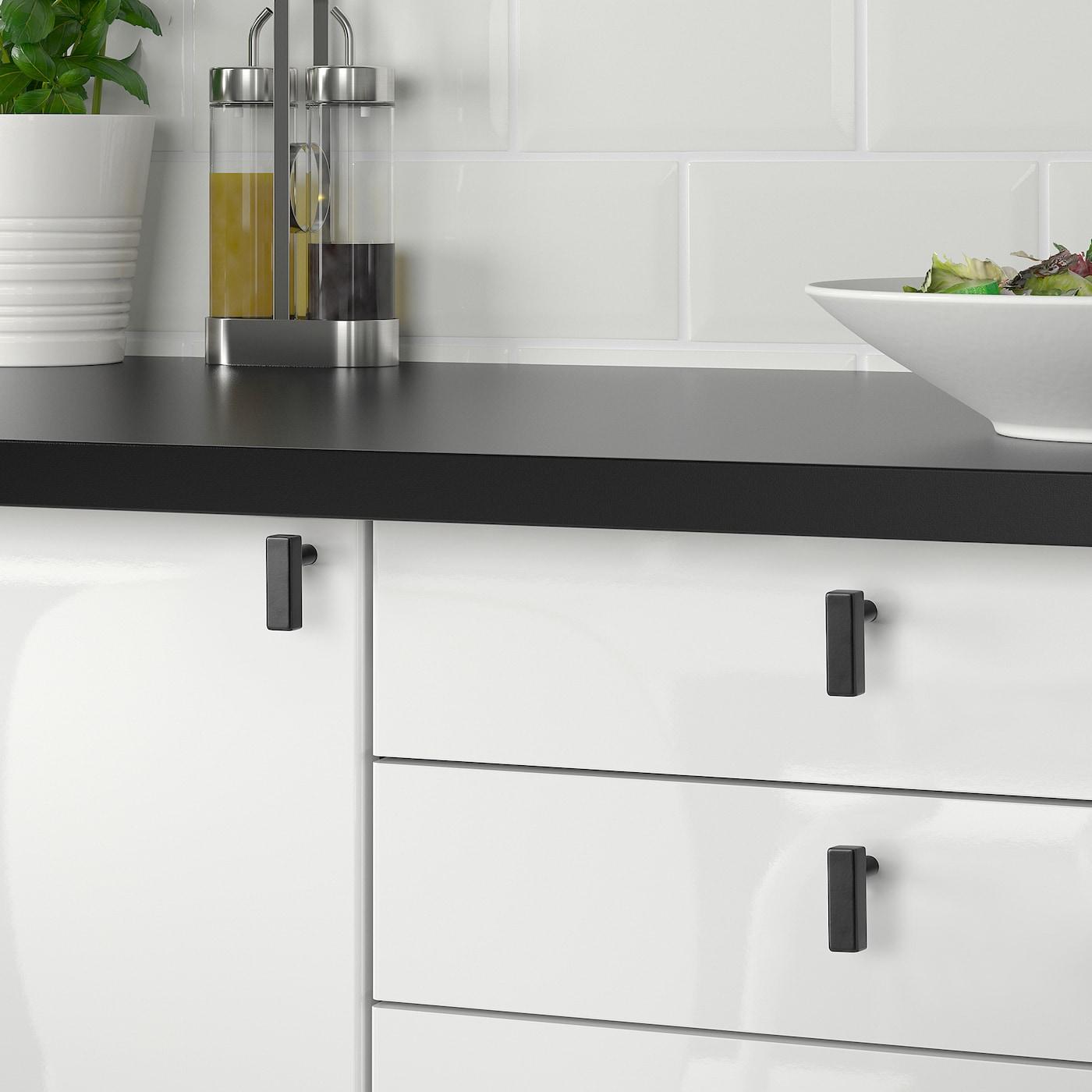 Gribbol Knop Zwart Ikea