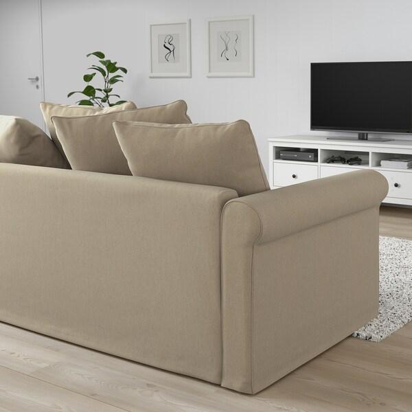 Ikea Metalen Slaapbank.Gronlid 2 Zits Slaapbank Sporda Naturel Ikea
