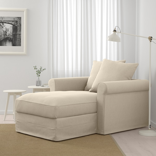GRÖNLID Chaise longue, Sporda naturel