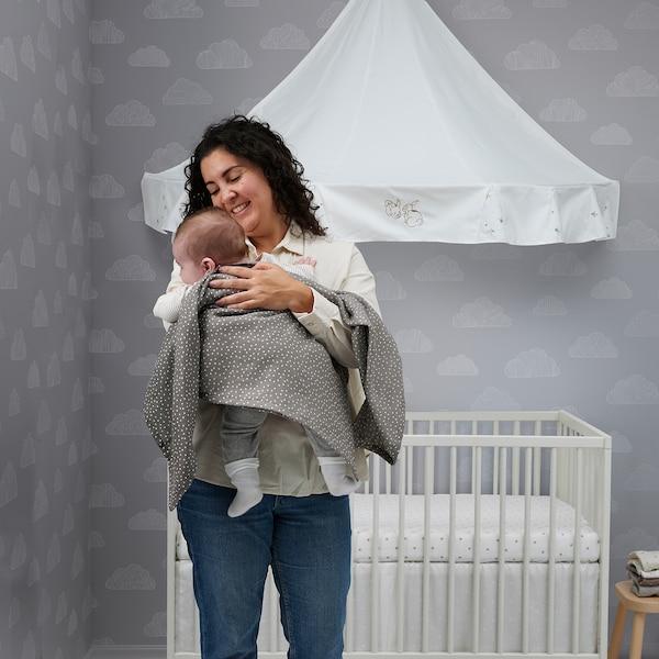 GULLIVER Babybedje, wit, 60x120 cm