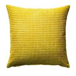 GULLKLOCKA kussenovertrek, geel