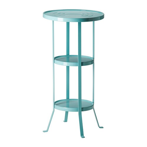 Ikea Keuken Blauw : Table IKEA Pedestal Gunnern
