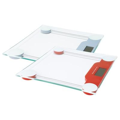 HÄLEN Weegschaal, digitaal diverse kleuren, 30x30 cm