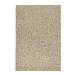 HAMPEN Vloerkleed, hoogpolig, beige