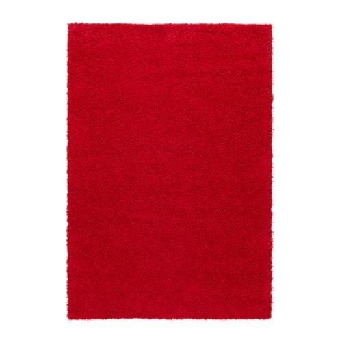 HAMPEN Vloerkleed, hoogpolig  133×195 cm  IKEA