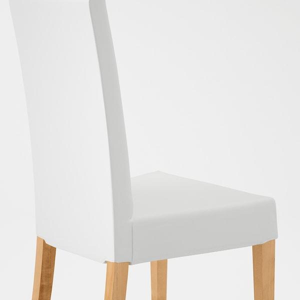 HARRY Eetkamerstoel, berken, Blekinge wit IKEA