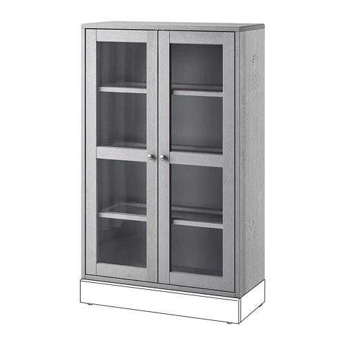 Wonderbaarlijk HAVSTA Vitrinekast - grijs - IKEA QO-87