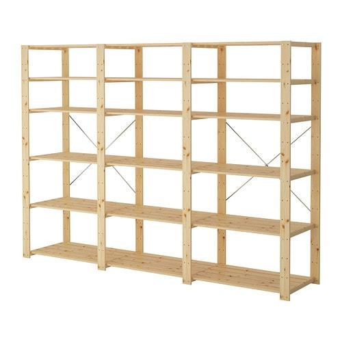 Flying Tiger Badkamer ~ HEJNE 3 elementen planken IKEA Door planken en elementen toe te voegen