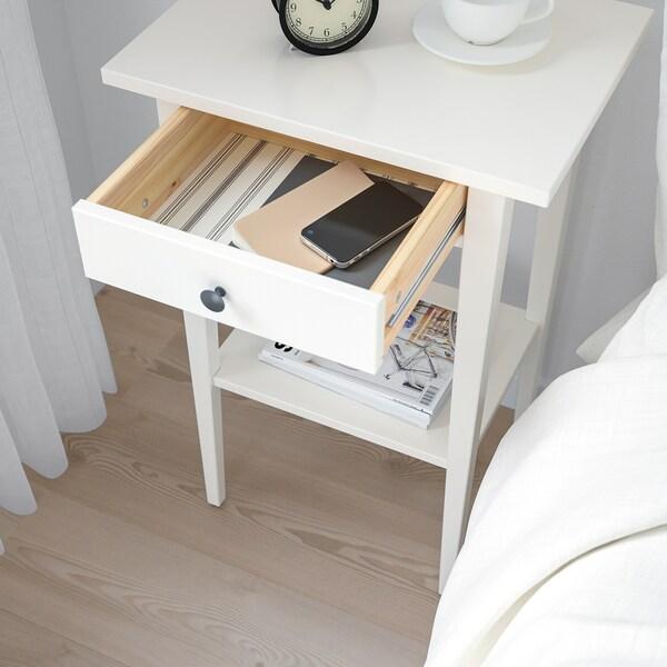 HEMNES nachtkastje wit 46 cm 35 cm 70 cm