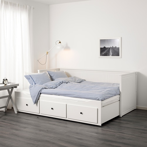 IKEA HEMNES Bedbank met 3 lades