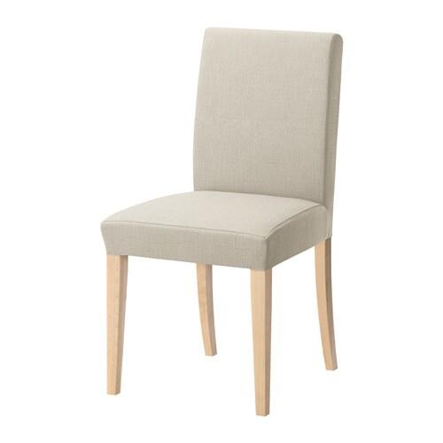 HENRIKSDAL Stoel IKEA De stoelpoten zijn gemaakt van massief hout en ...