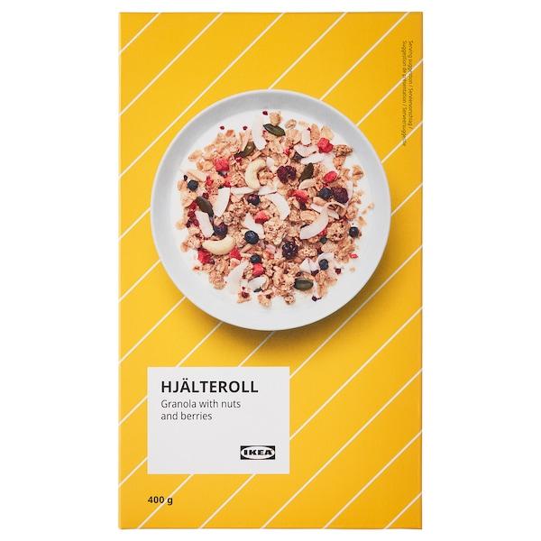 HJÄLTEROLL Granola, met noten en gedroogde bessen, 400 g