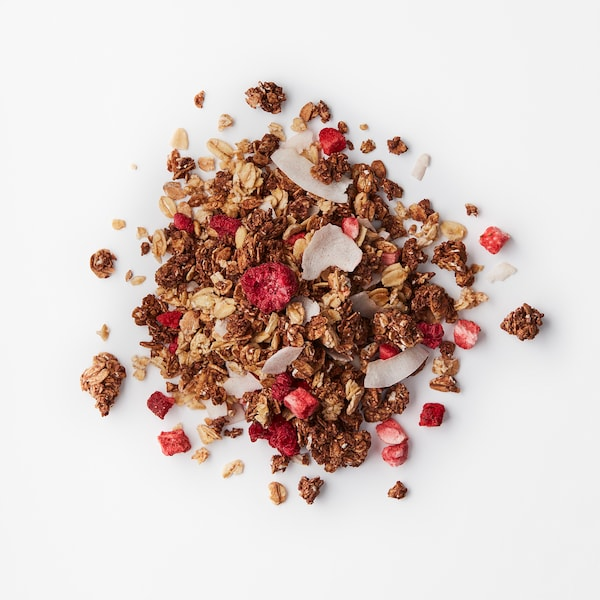 HJÄLTEROLL Muesli, met cacao en gedroogde bessen/UTZ-gecertificeerd, 400 g