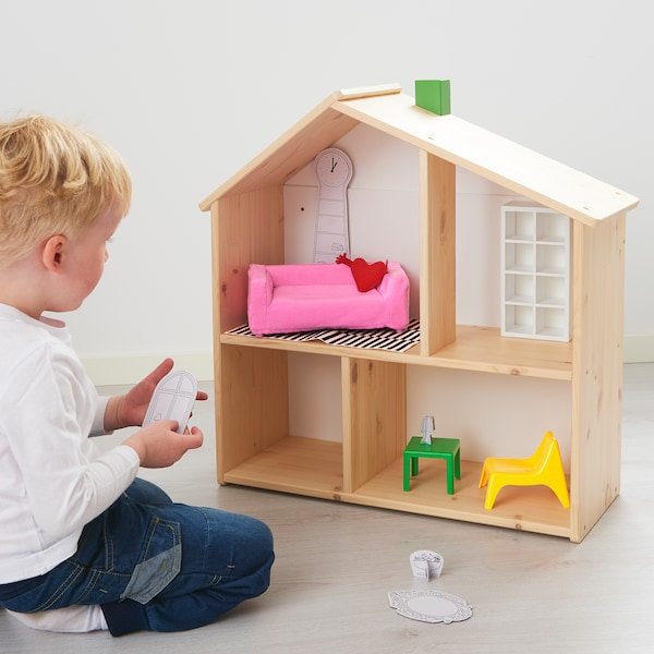 HUSET Poppenmeubels, woonkamer