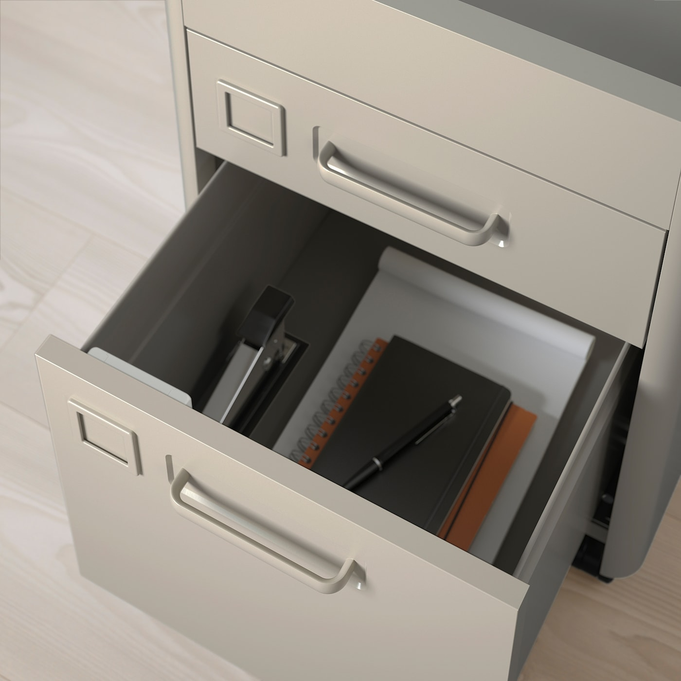 Wonderbaarlijk IDÅSEN Ladeblok met smart lock - donkergrijs - IKEA MO-17