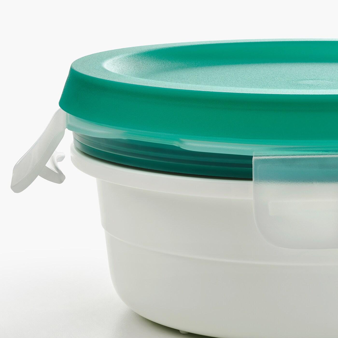 IKEA 365+ lunchbox met vak v droge producten rond 5 cm 14 cm 450 ml