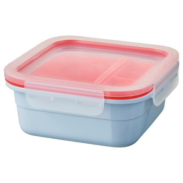 IKEA 365+ lunchbox met inzetten vierkant 15 cm 15 cm 6 cm 750 ml