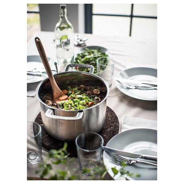 IKEA 365+ Pan met deksel, roestvrij staal/glas, 5 l