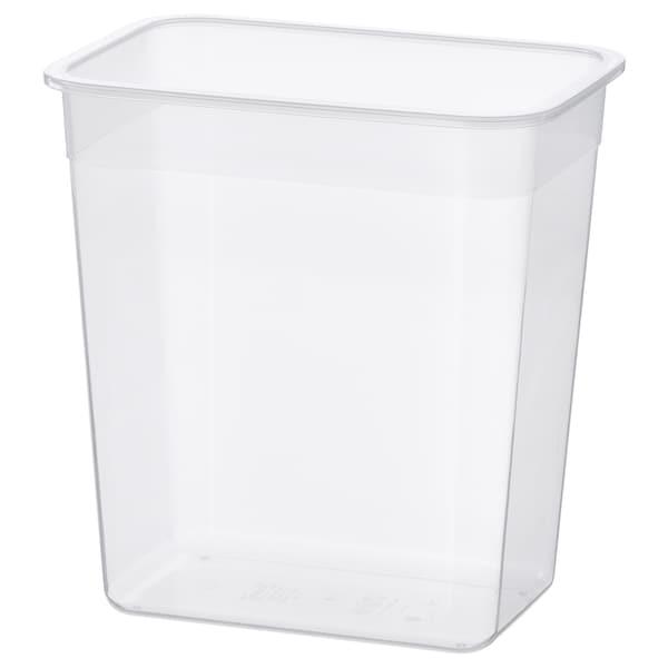 IKEA 365+ Voorraaddoos, rechthoekig/kunststof, 4.2 l