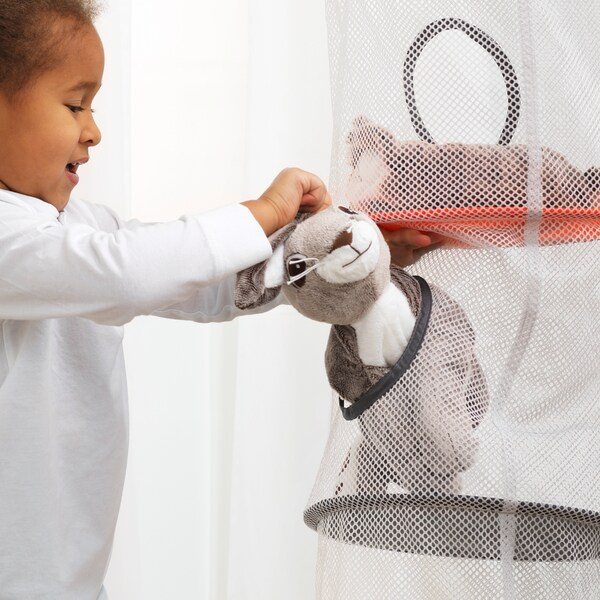 IKEA PS FÅNGST opberger 6 vakken grijs 168 cm 29 cm