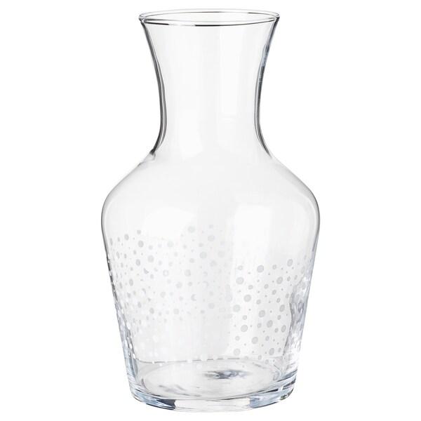 INBJUDEN Karaf, helder glas, 1.0 l