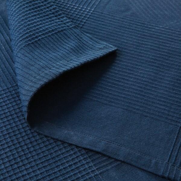 INDIRA Sprei, donkerblauw, 150x250 cm