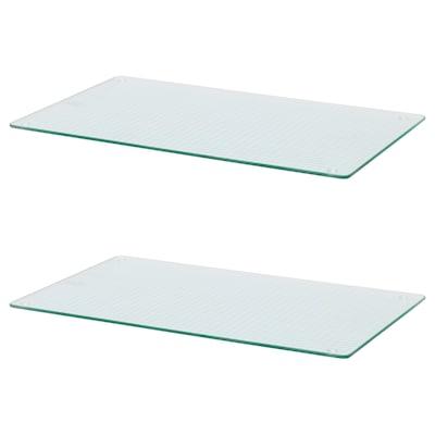 INSUG kookplaatbeschermer glas 52 cm 30 cm 1 cm 2 st.