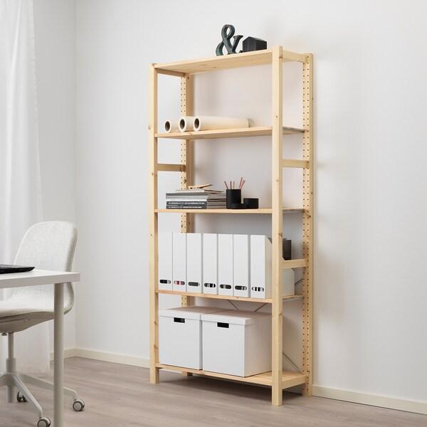 Ivar Stellingkast Grenen Winkel Vandaag Ikea