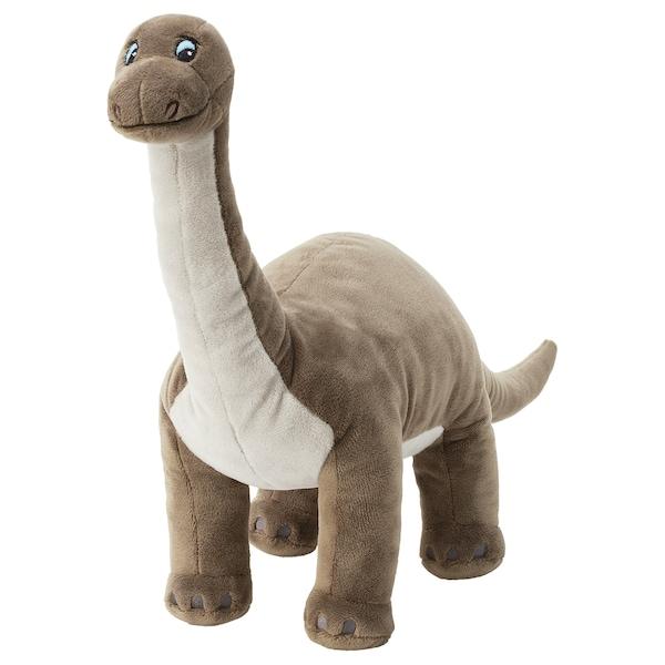 JÄTTELIK Pluchen speelgoed, dinosaurus/dinosaurus/brontosaurus, 55 cm