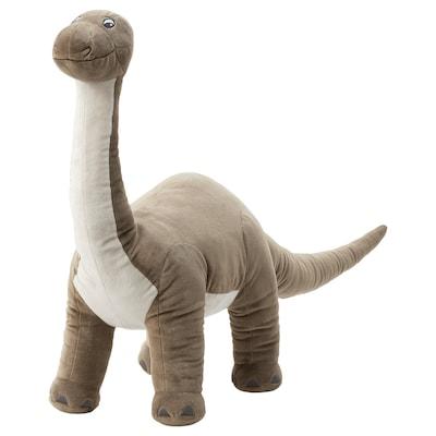 JÄTTELIK Pluchen speelgoed, dinosaurus/dinosaurus/brontosaurus, 90 cm