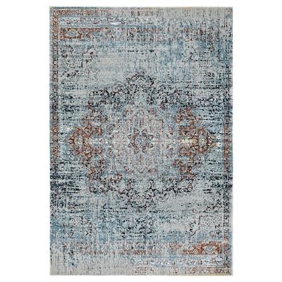 JEJSING Vloerkleed, laagpolig, veelkleurig, 160x235 cm