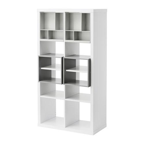 Goedkoop Badkamer Breda ~ KALLAX Open kast met 4 inzetten IKEA Gebruik de inzetten om de KALLAX