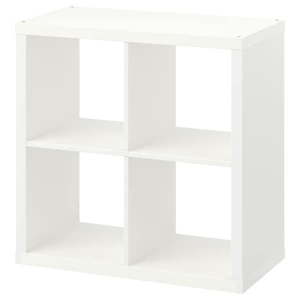 KALLAX Open kast, wit, 77x77 cm