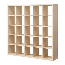 KALLAX Open kast, berkenkleur