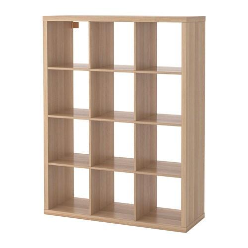 Ikea Expedit Boekenkast Zwart Bruin.Kallax Open Kast Zwartbruin Ikea