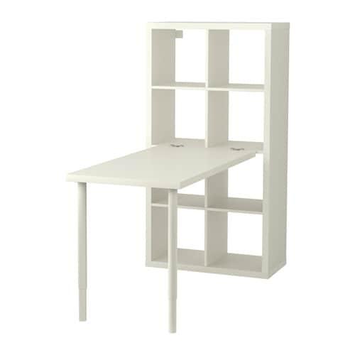 Kallax Tafelcombinatie Wit Ikea