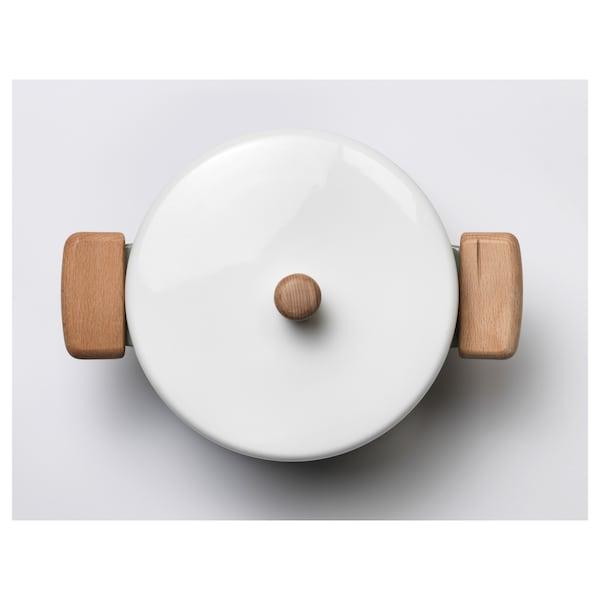 KASTRULL Pan met deksel, groen, 3 l