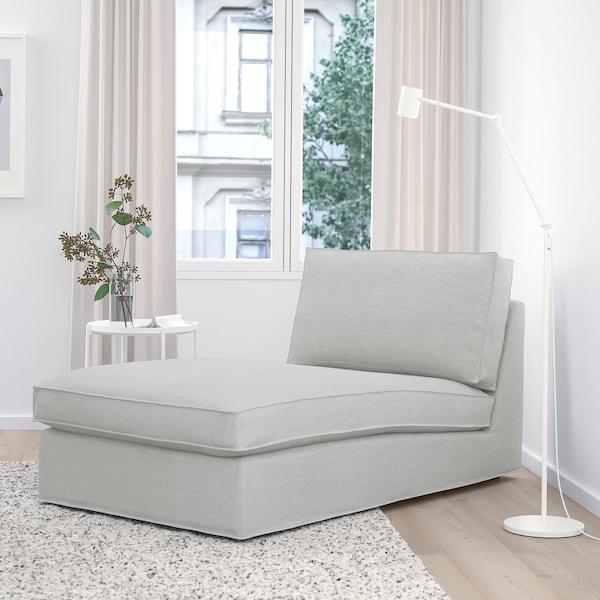 KIVIK Chaise longue, Orrsta lichtgrijs