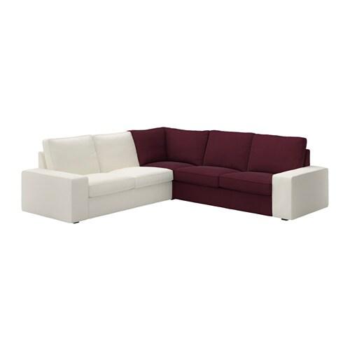 KIVIK Hoekelement   Dansbo roodpaars   IKEA