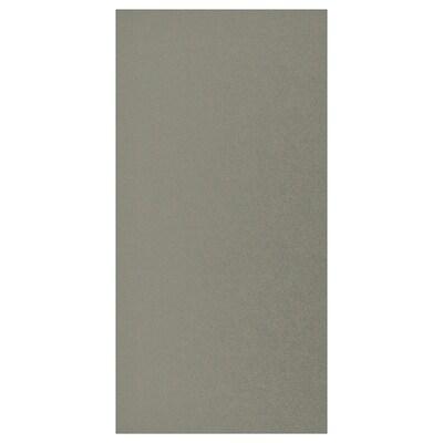KLUBBUKT Deur, grijsgroen, 60x120 cm