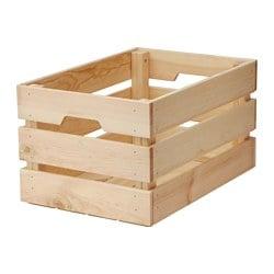 KNAGGLIG Kist, grenen
