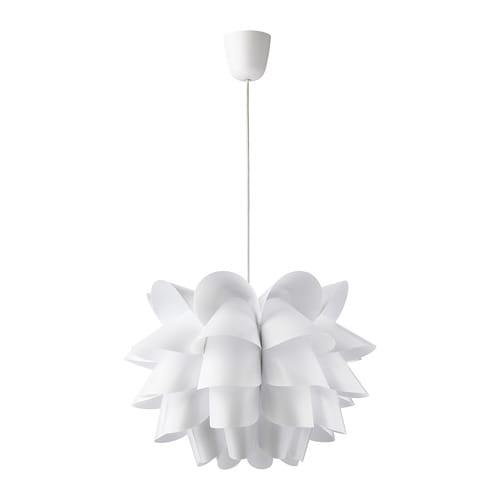 KNAPPA Hanglamp, wit