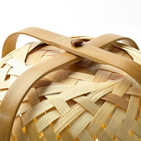 KNIXHULT tafellamp bamboe 13 W 37 cm 26 cm 2.0 m