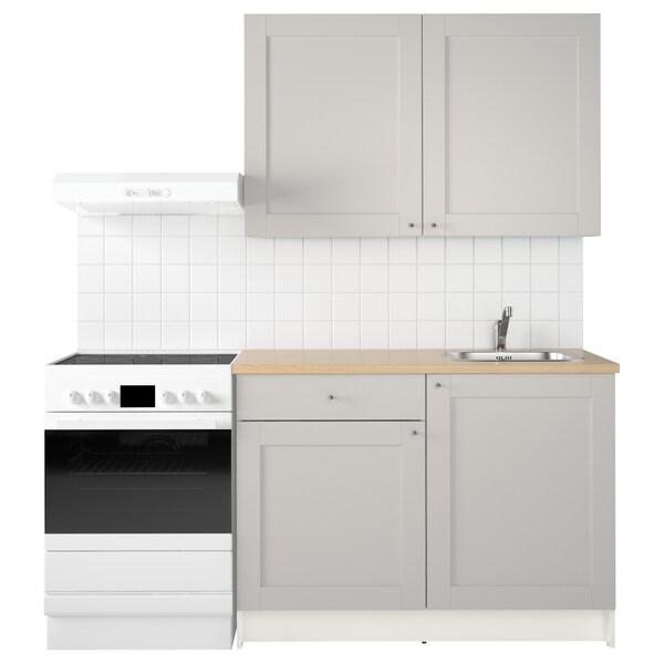 KNOXHULT keuken grijs 120.0 cm 61.0 cm 220.0 cm
