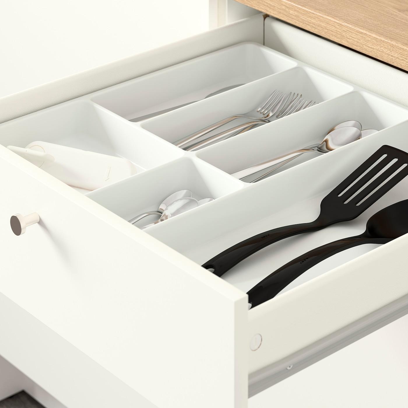 Knoxhult Onderkast Met Deuren En Lade Wit 120 Cm Ikea