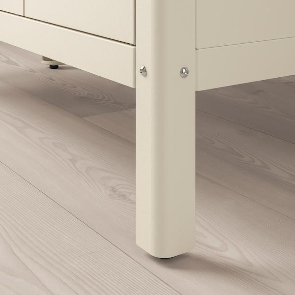KOLBJÖRN Kast binnen/buiten, beige, 80x81 cm