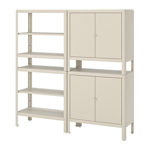 Wonderbaarlijk KOLBJÖRN Open kast met 2 kasten - IKEA IX-96