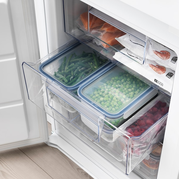 KÖLDGRADER Inbouw koelkast / vriezer A++, wit, 213/60 l