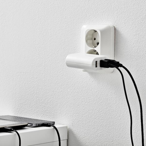 KOPPLA USB-lader met 3 poorten, wit
