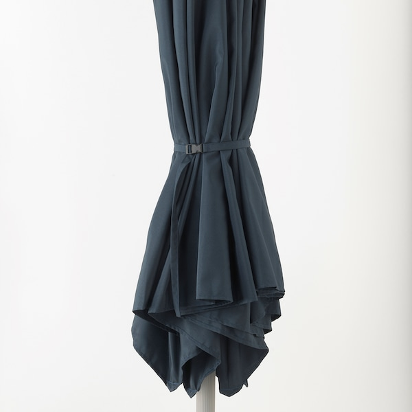 KUGGÖ / LINDÖJA Parasol, blauw, 300 cm
